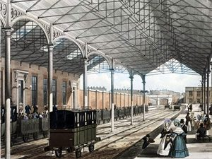 Euston_Station_showing_wrought_iron_roof_of_1837